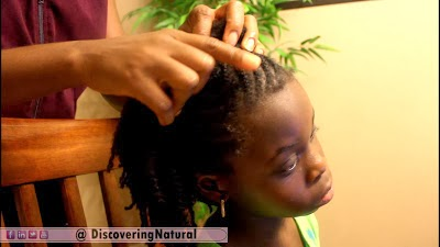 Video: How to Take Down a Child's Natural Hairstyle without Breakage