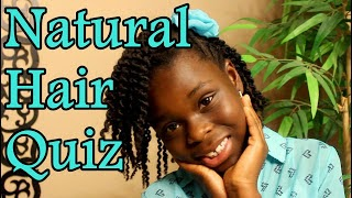 How Much Does Your AfroKid Know About Her Natural Hair?
