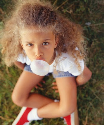 How to remove chewing gum from your child's natural hair