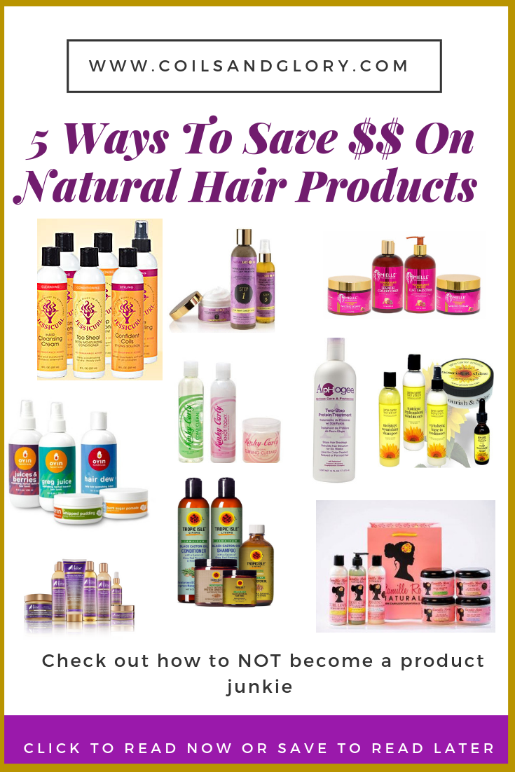 5 Ways to Save Money on Natural Hair Products