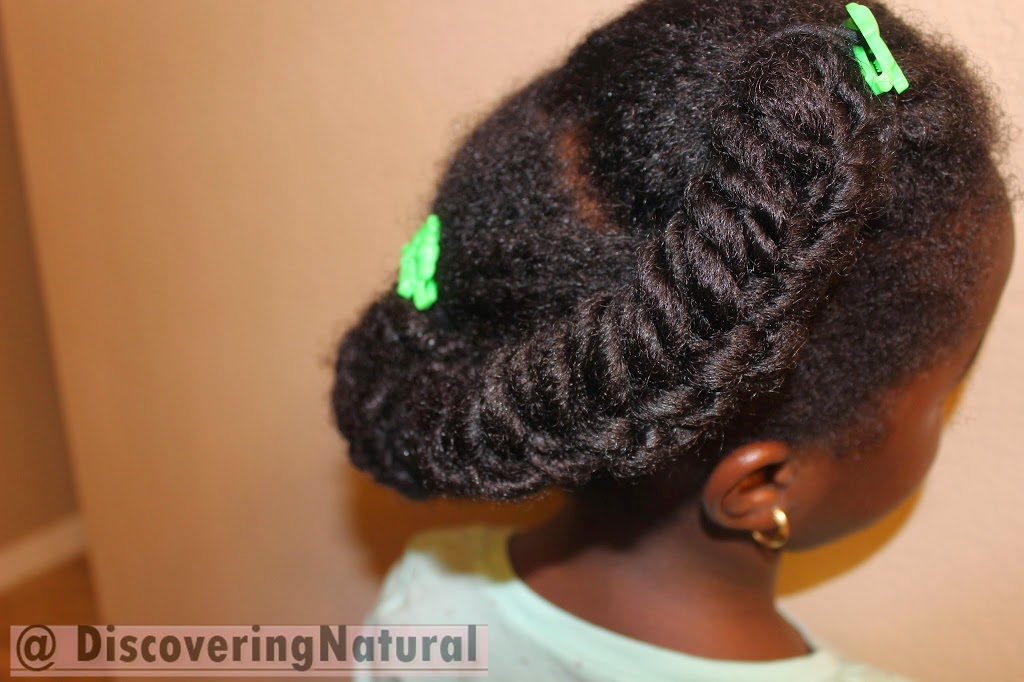 How to do Fishtail Braid on your Afrokids Natural Hair