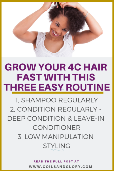 how to grow 4c natural hair fast