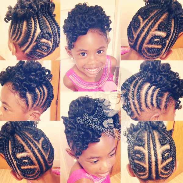 12 Holiday Hairstyles for Kids with Natural Hair