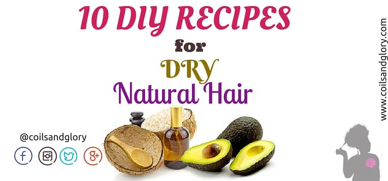 DIY recipes for soft natural hair