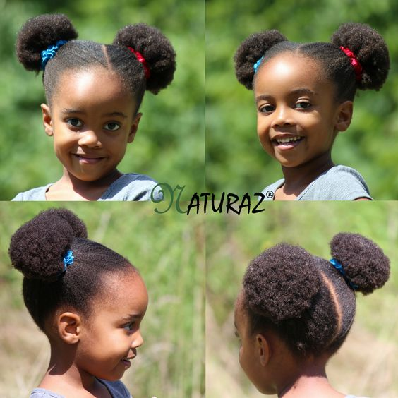 Wondrous 10 Cute Back To School Natural Hairstyles For African American Natural Hairstyles Runnerswayorg