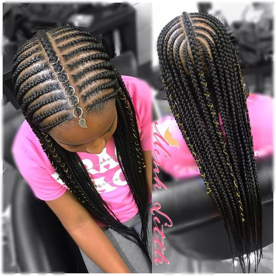 10 Cute Back to School Natural Hairstyles for African ...