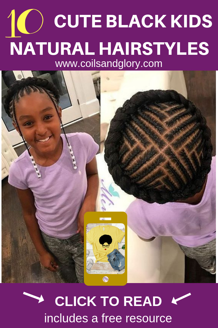10 Cute Back to School Natural Hairstyles for African American Kids
