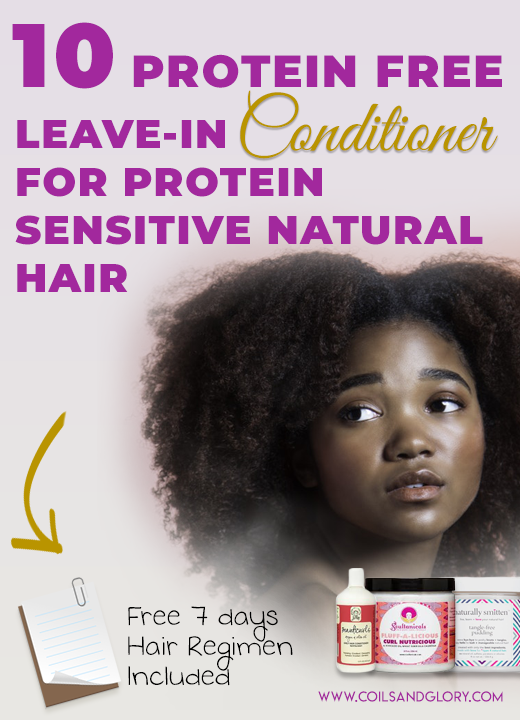 leave in conditioner for protein sensitive hair