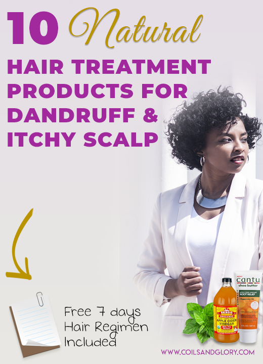 natural hair treatment for dandruff