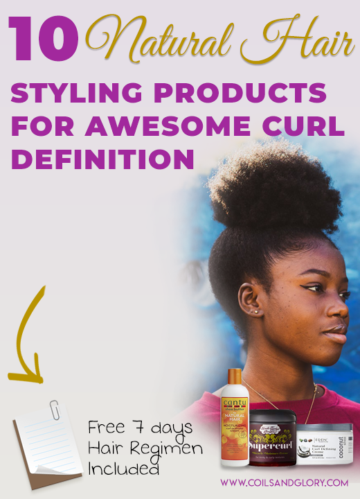 natural hair products for curl definition