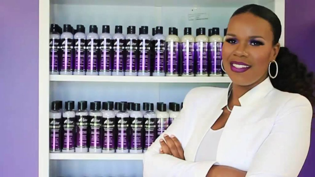 black owned natural hair products brand