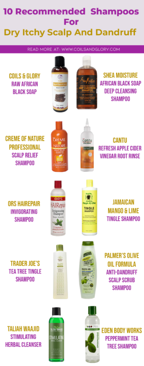 Shampoos For Dandruff And Itchy Scalp