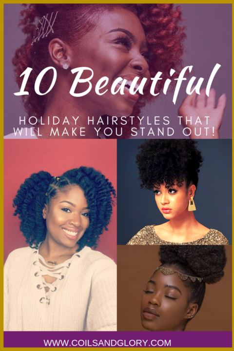 holiday natural hairstyles