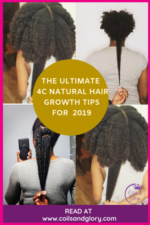 how to grow 4c hair to waist length