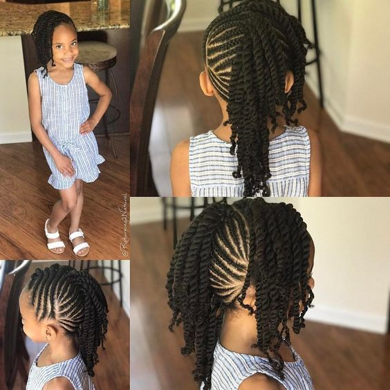Prime 12 Easy Winter Protective Natural Hairstyles For Kids Coils Glory Schematic Wiring Diagrams Phreekkolirunnerswayorg