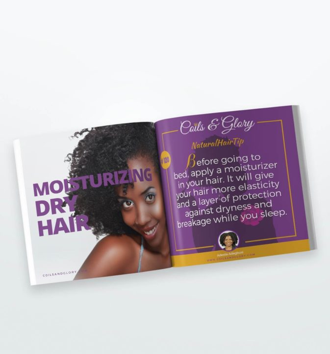 moisturize natural hair