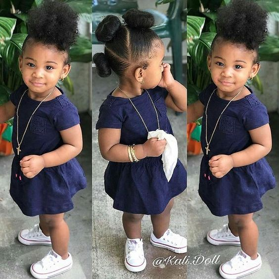 30 Cute And Easy Natural Hairstyle Ideas For Toddlers Coils And