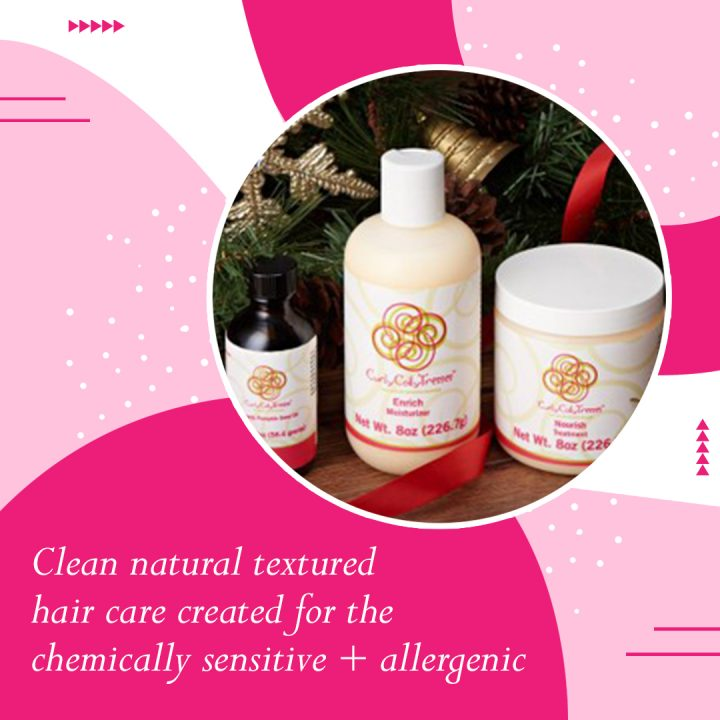curly coily natural hair products
