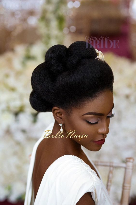 30 Beautiful Wedding Hairstyles For African American