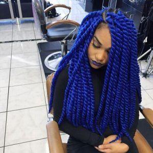 blue havana twists