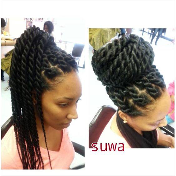medium havana twist hairstyles