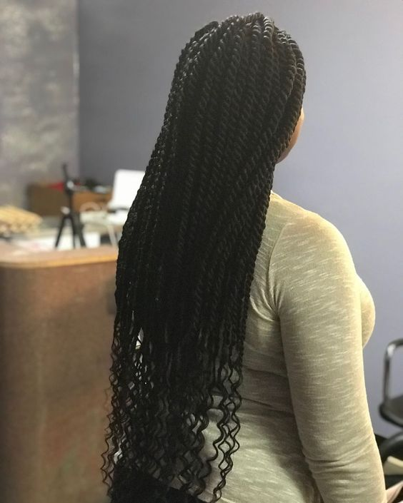 long small marley twists professional hairstyles