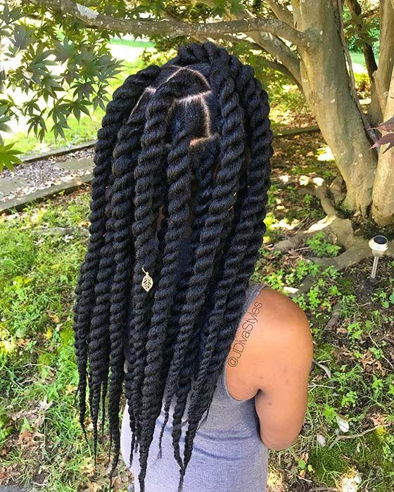jumbo havana twist hairstyle ideas