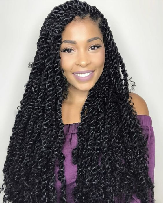 how to do passion twist hairstyle