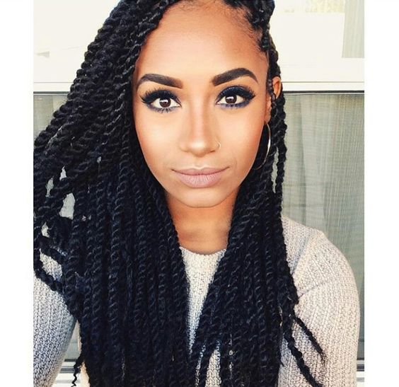 black marley twists hairstyles