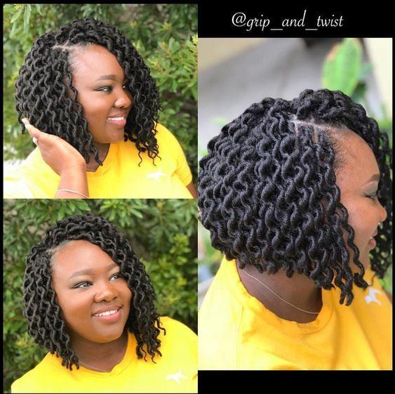 Faux Locs crochet braids styles