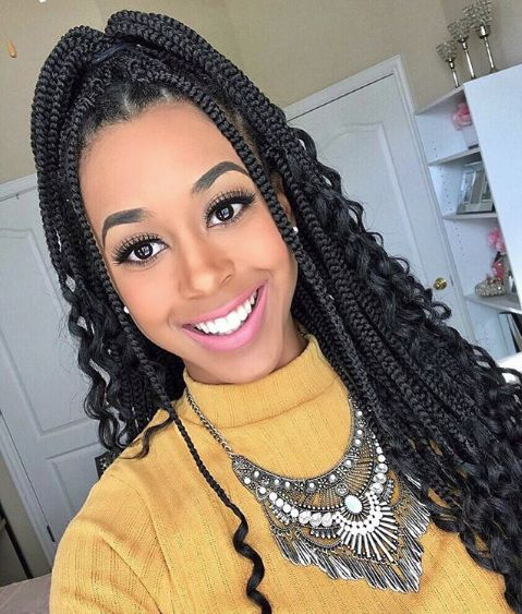 40 Bohemian Box Braids Protective Hairstyles Ideas Coils