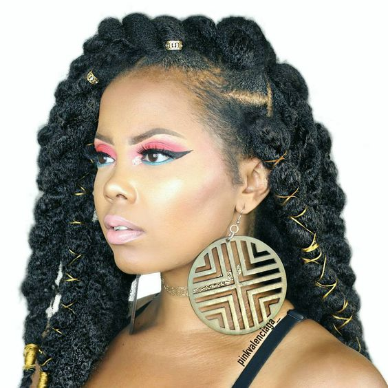 havana twist professional hairstyles
