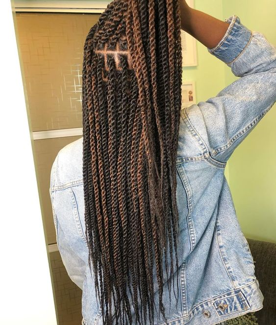 ombre marley twist hair