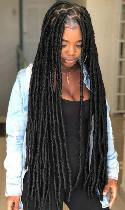 40 Faux Locs Protective Hairstyles To Try With Full Guide