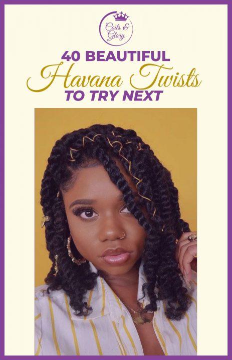Havana Twist Styles on 4c Hair