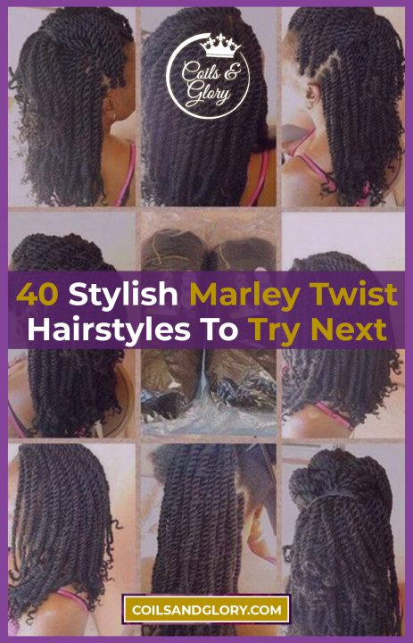 marley twists hairstyles on natural hair