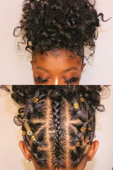 rubber band for black hair