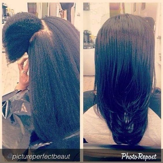 4a natural hair shrinkage before and after