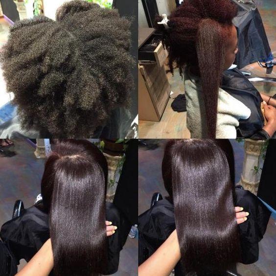 4b natural hair shrinkage