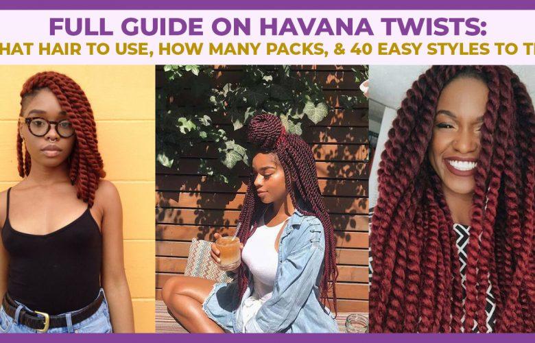 Havana Twists Hairstyles
