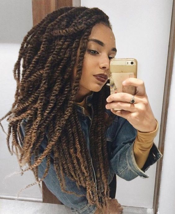 medium length marley twist