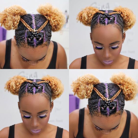 cute rubber band hairstyles
