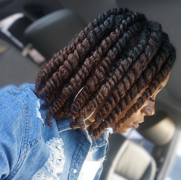 two strand twist protective styles for natural hair