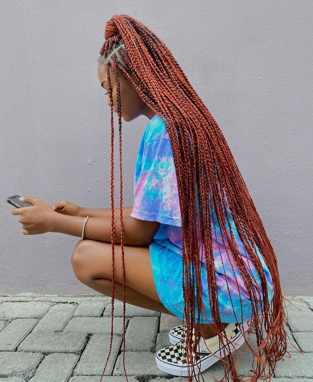 long box braids hairstyles