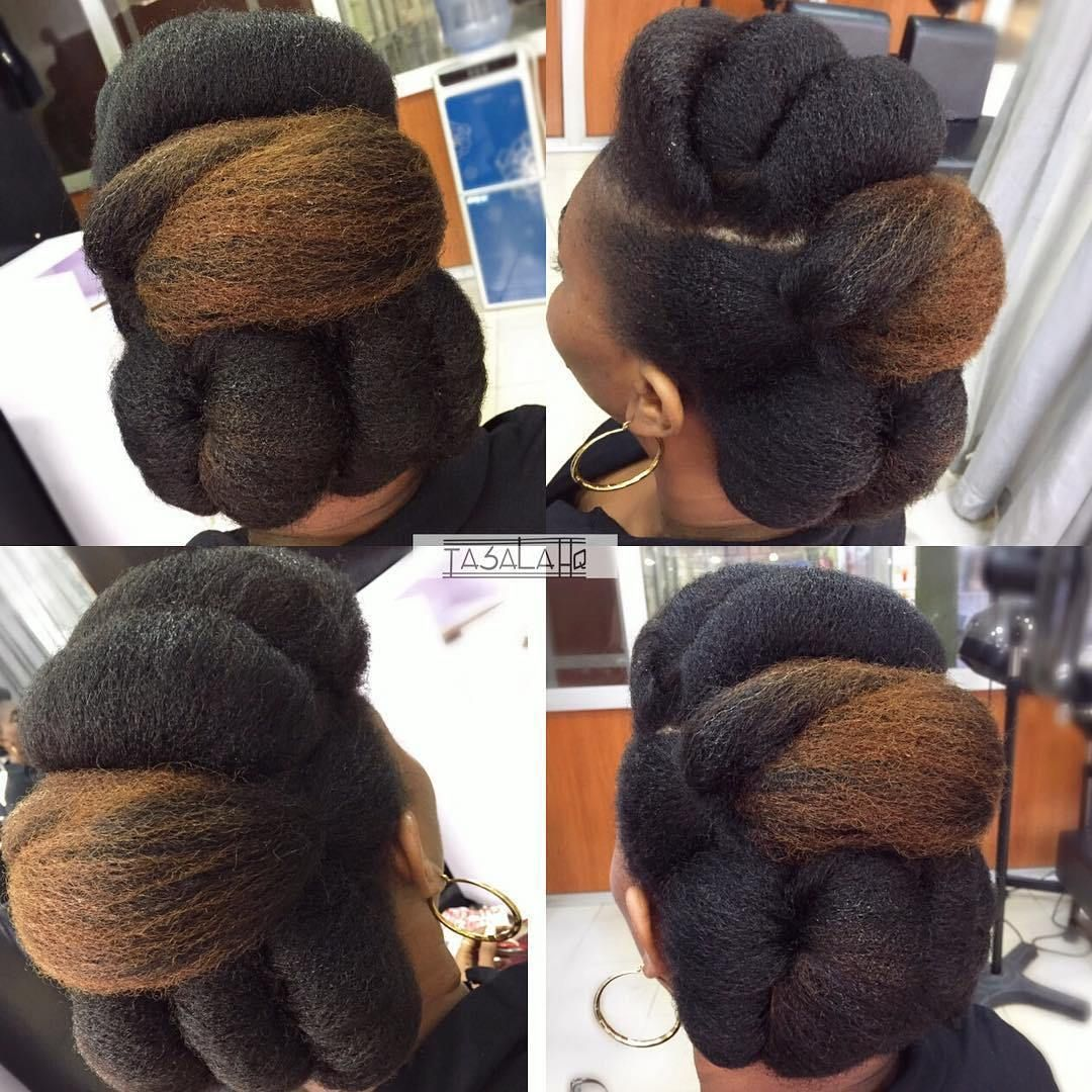 natural hair updos for weddings