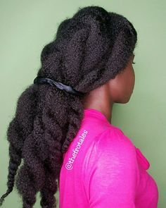 two strand twist protective style